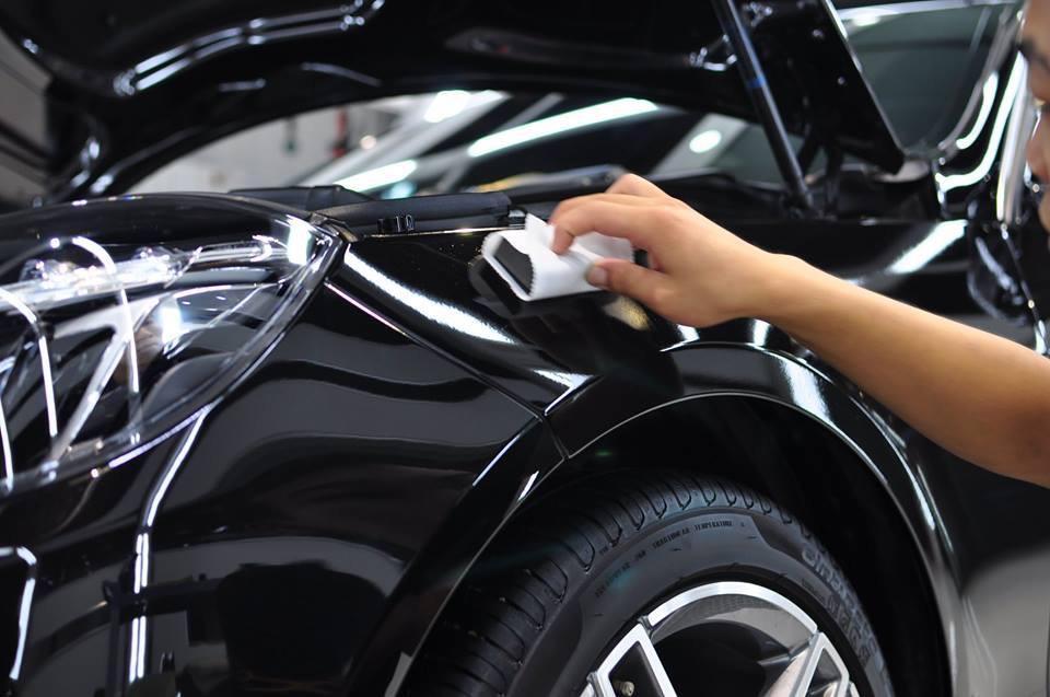Нанесение керамического покрытия на авто